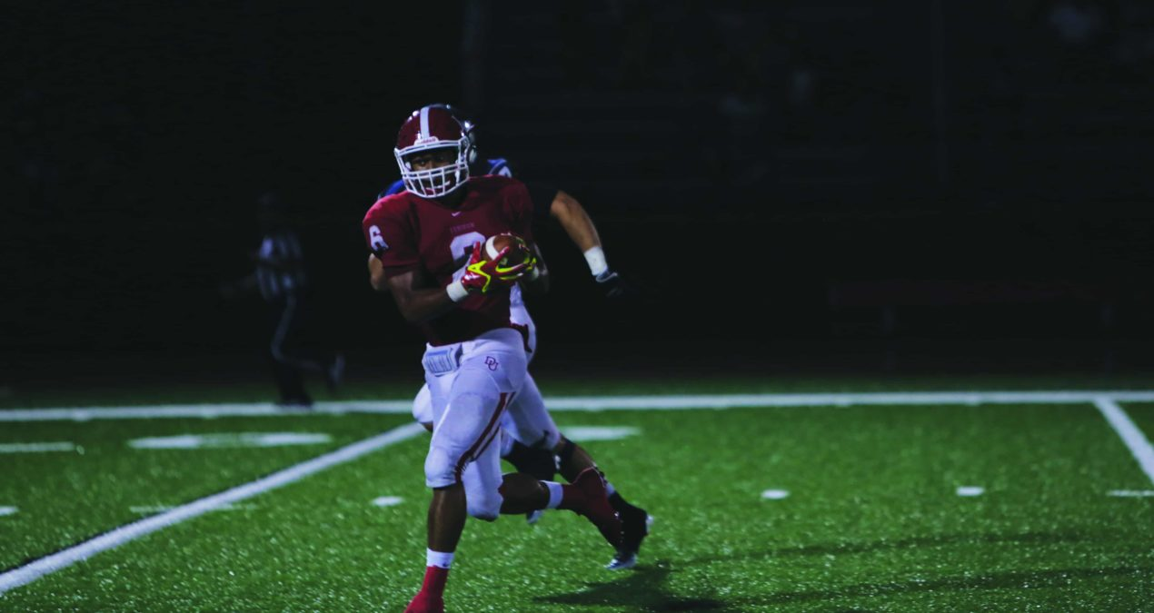 Brown shatters records, leads DU to 45-0 win