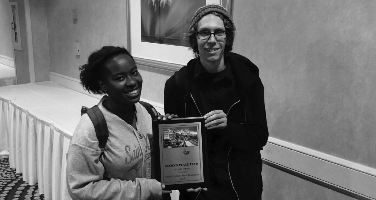Debaters come out on top at GSU competition