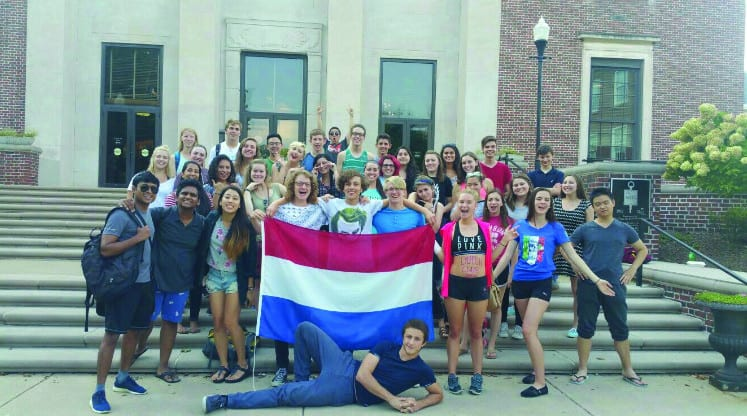 The Dutch Club: A spontaneous force on campus