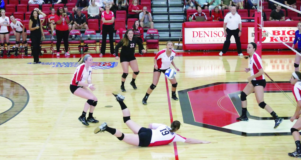DU drops three after victory against Kenyon on Big Red Weekend