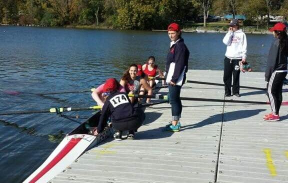 Women's crew squad travels to Columbus, makes podium