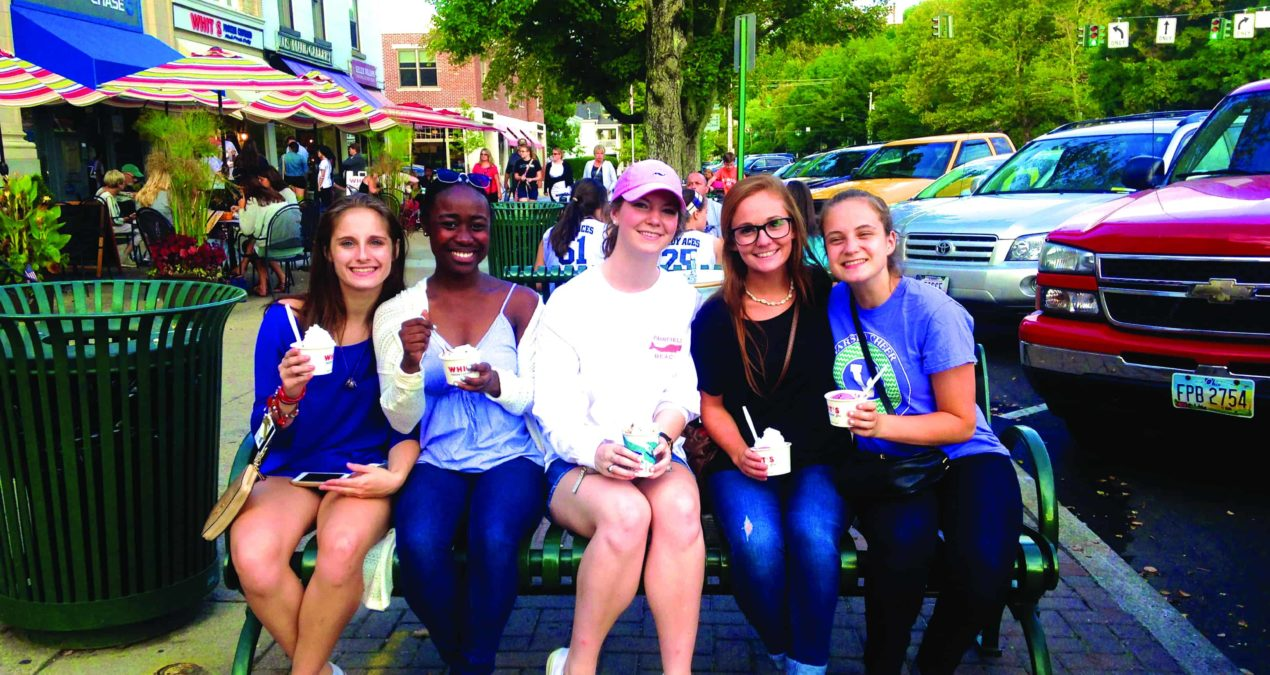 Whit's Frozen Custard plays a large role in student life