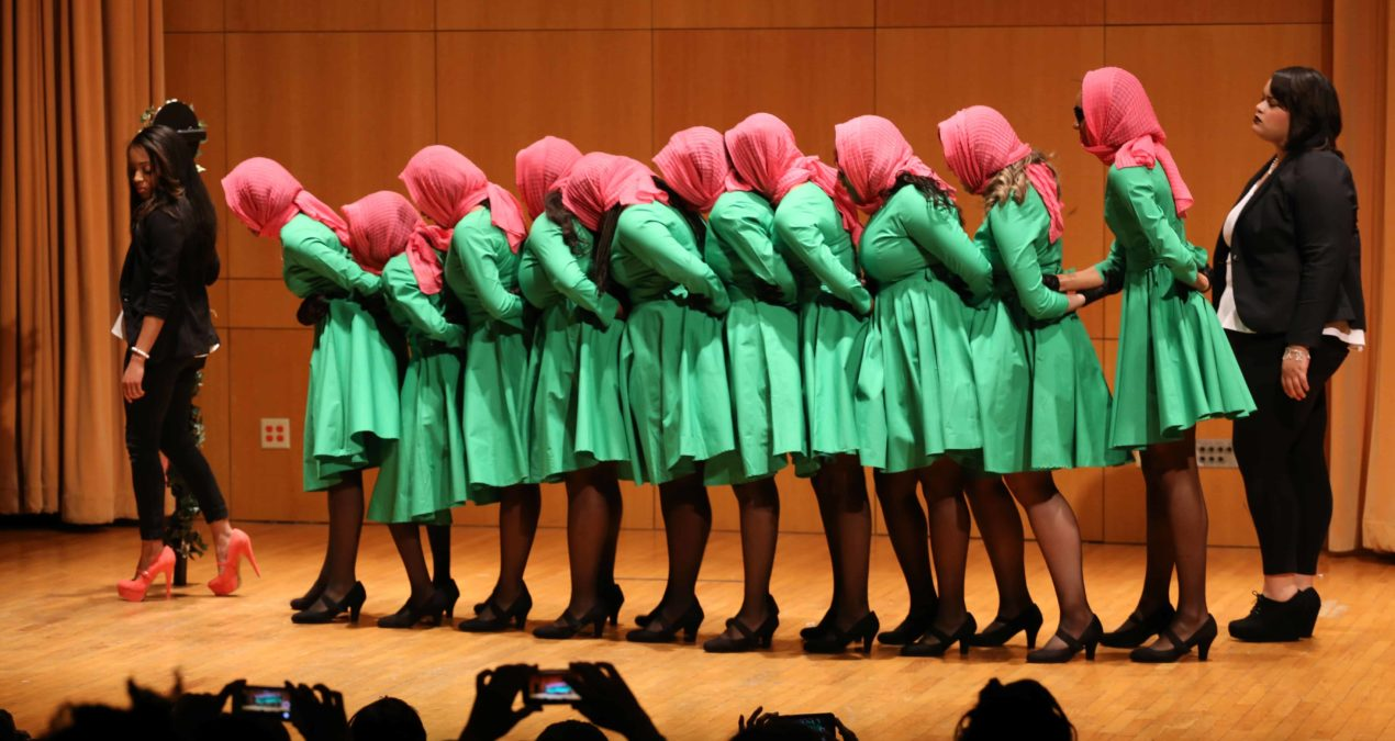 Alpha Kappa Alpha returns to campus with eight new members