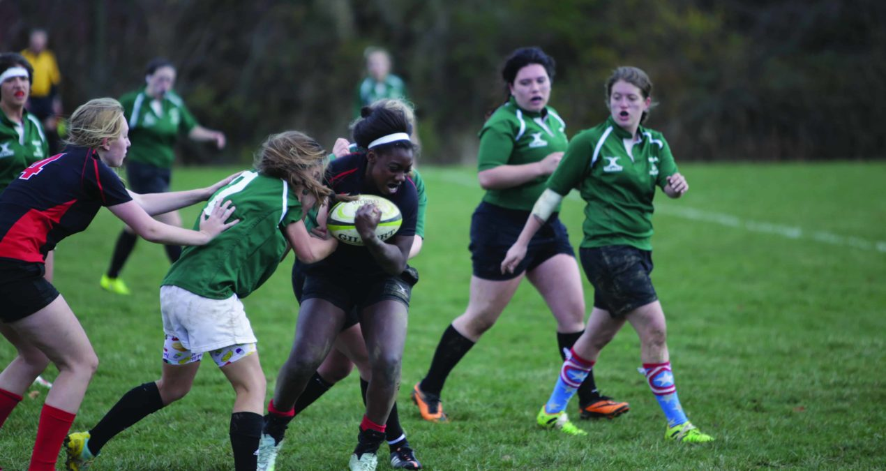 Women's rugby team continues national tournament run