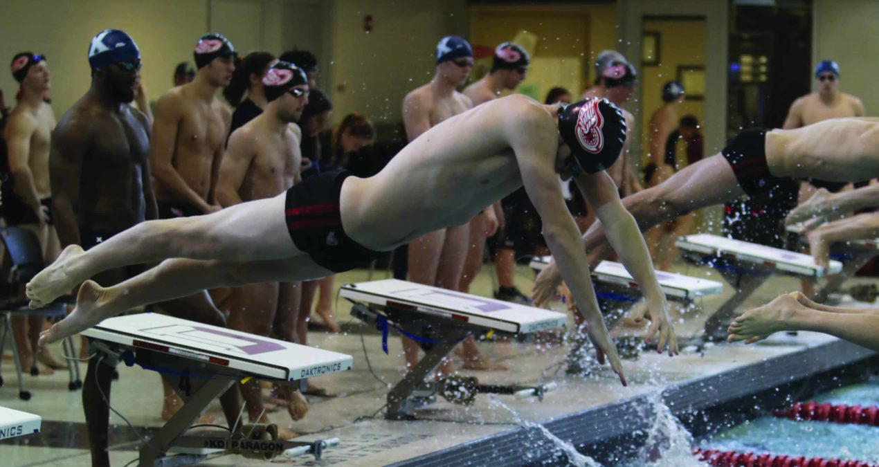 Swim & Dive clashes with Kenyon