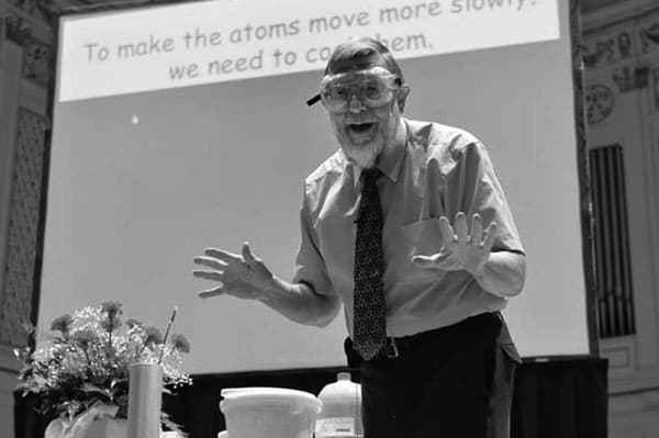 Anderson lecture combines knowledge with fun