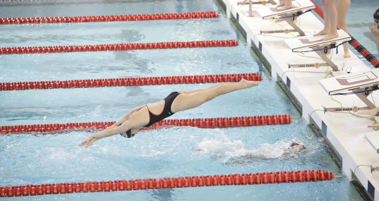 Swim and Dive crush Ohio Wesleyan