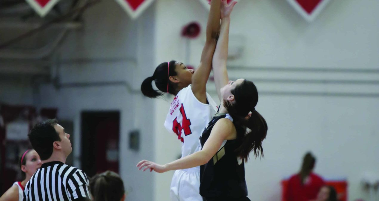 Women's basketball clinches 12th consecutive win