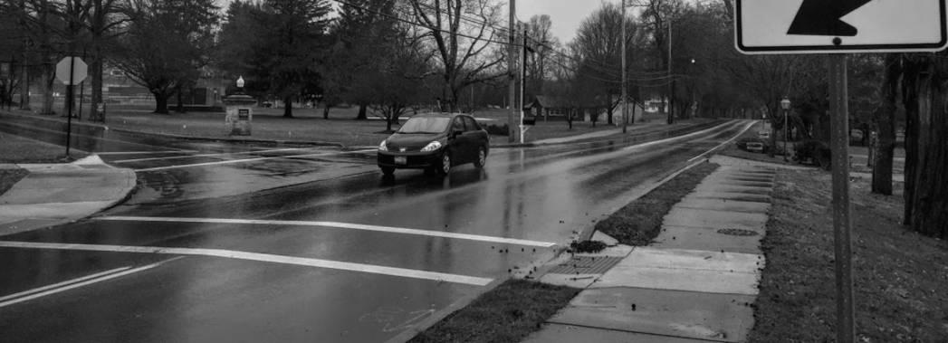 Pedestrian safety in Granville lacks proper improvements