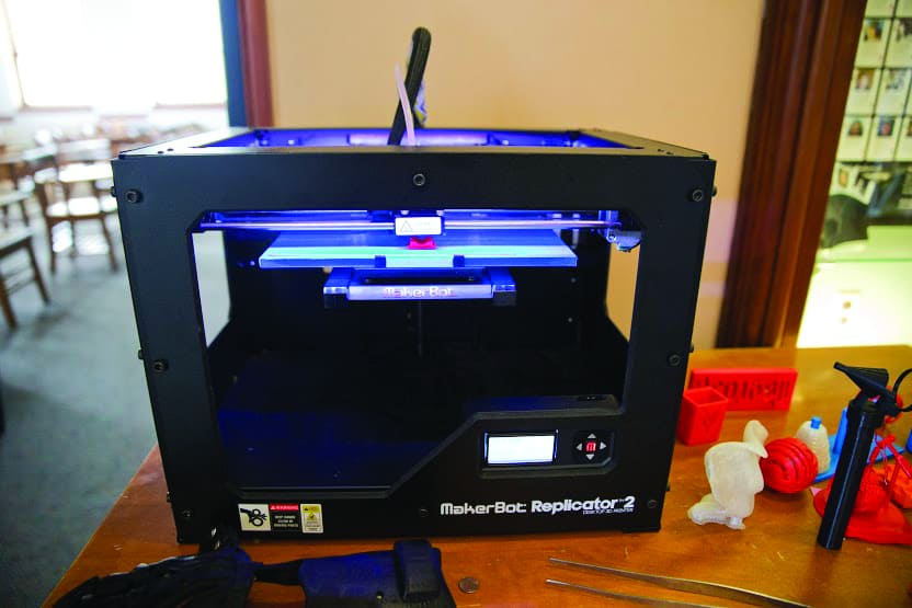 Denison takes a step into the future with new 3D printers
