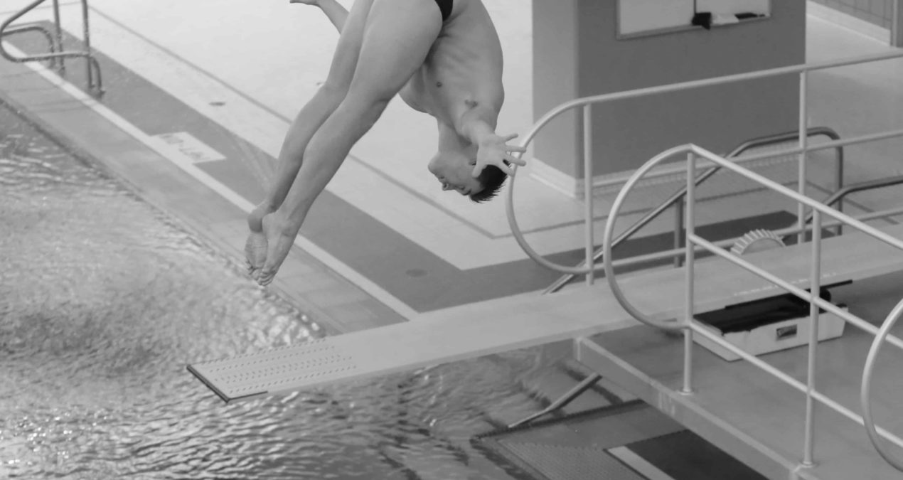 Diving team participates in the NCAA Diving Regional Championships