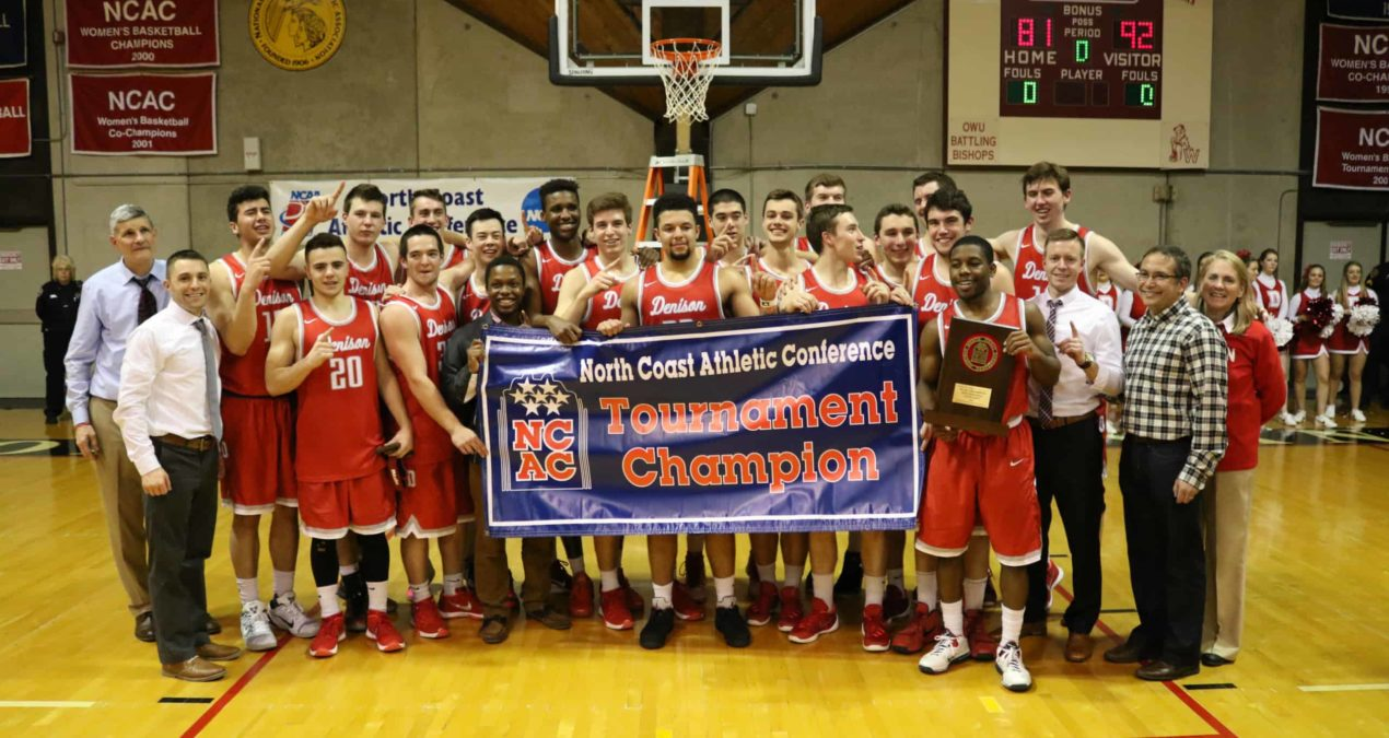 After first NCAC championship, men's basketball ends at first round of NCAA
