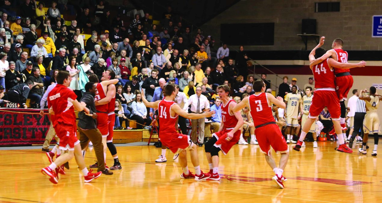 Big Red return from tournament NCAC champions