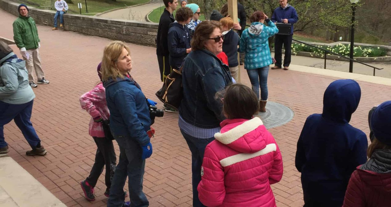 20th Annual Granville Cross Walk celebrates Good Friday
