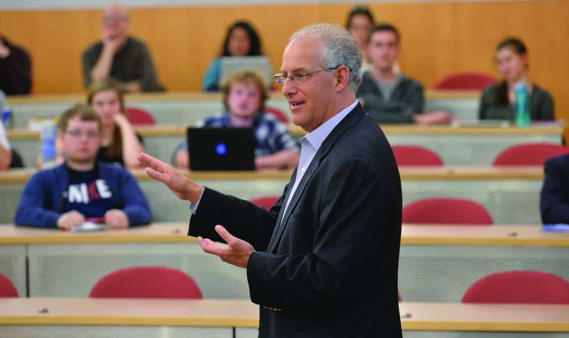 Mike Stern '83 talks climate  change, corporations and chemistry