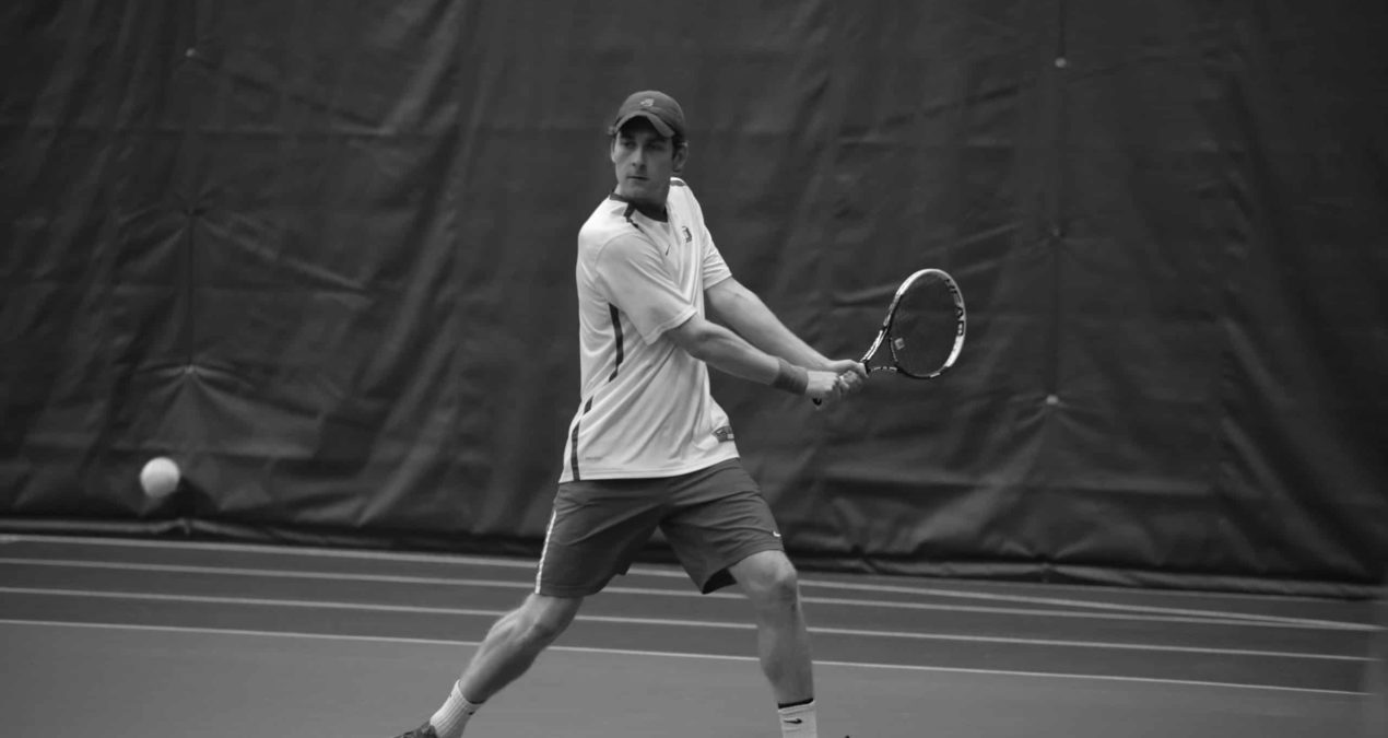 Men's tennis completes thrilling come from behind victory