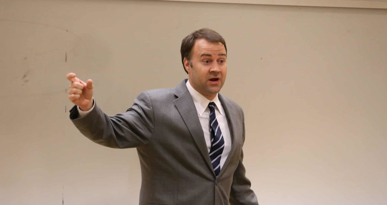 David Pepper talks the value of voting today
