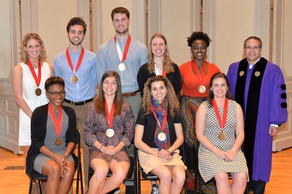 Students honored at academic award convocation