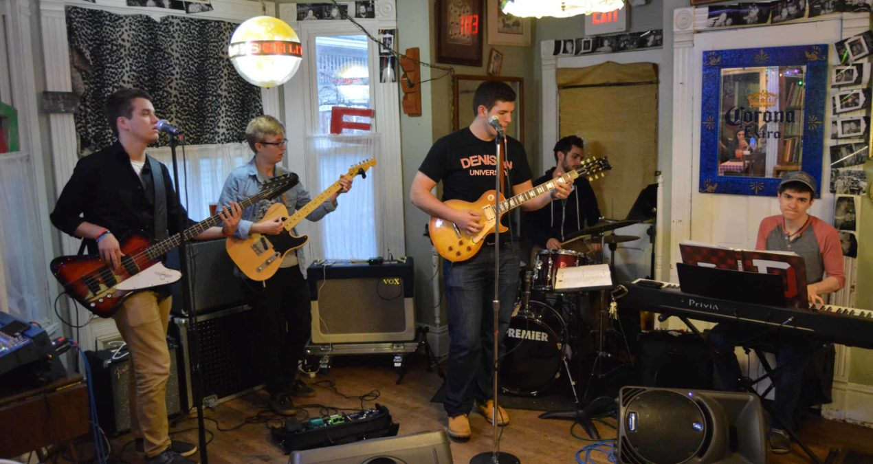 Denison ensemble Easy, Mac brings funky vibes to Taco Dan's