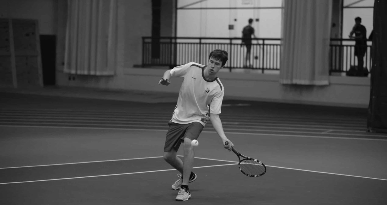 Win streak continues for Men's Tennis after facing Wooster