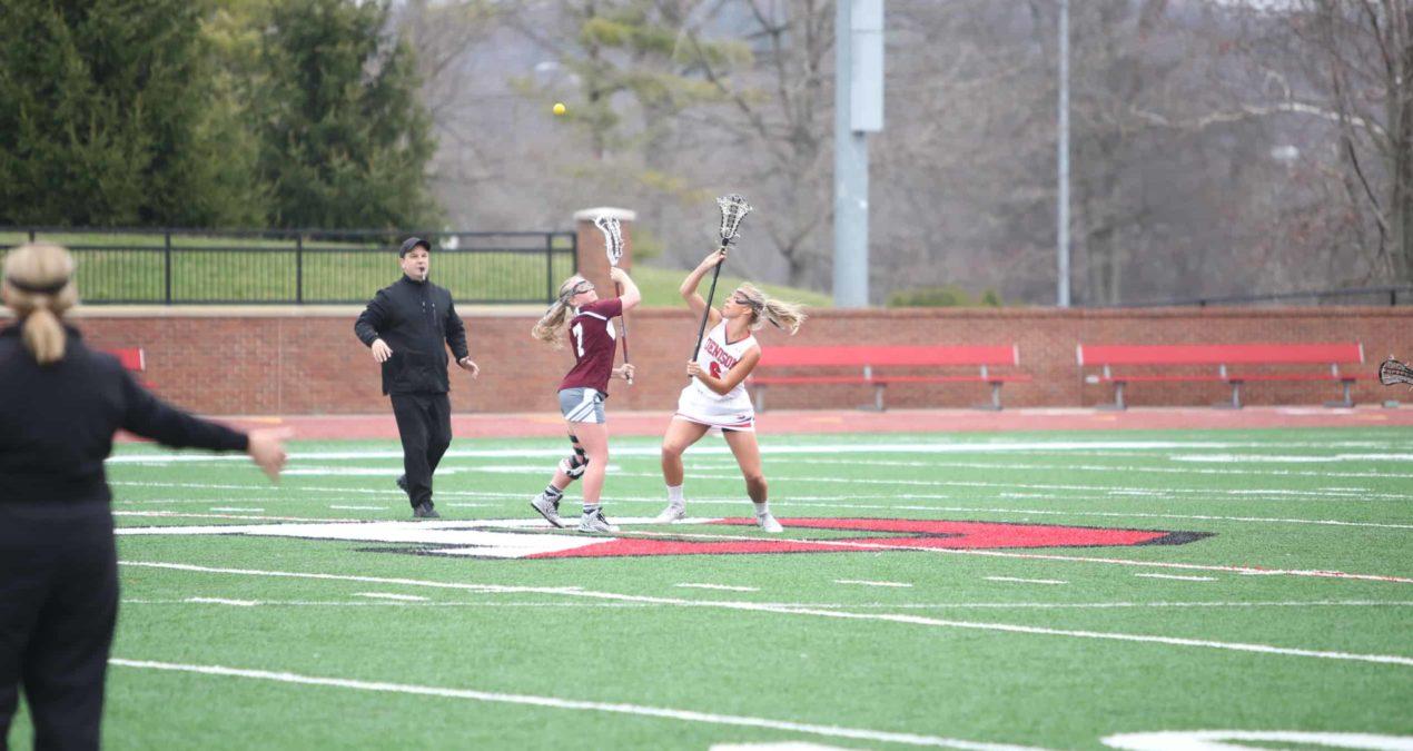 Women's lacrosse triumph over Oberlin in overtime shot