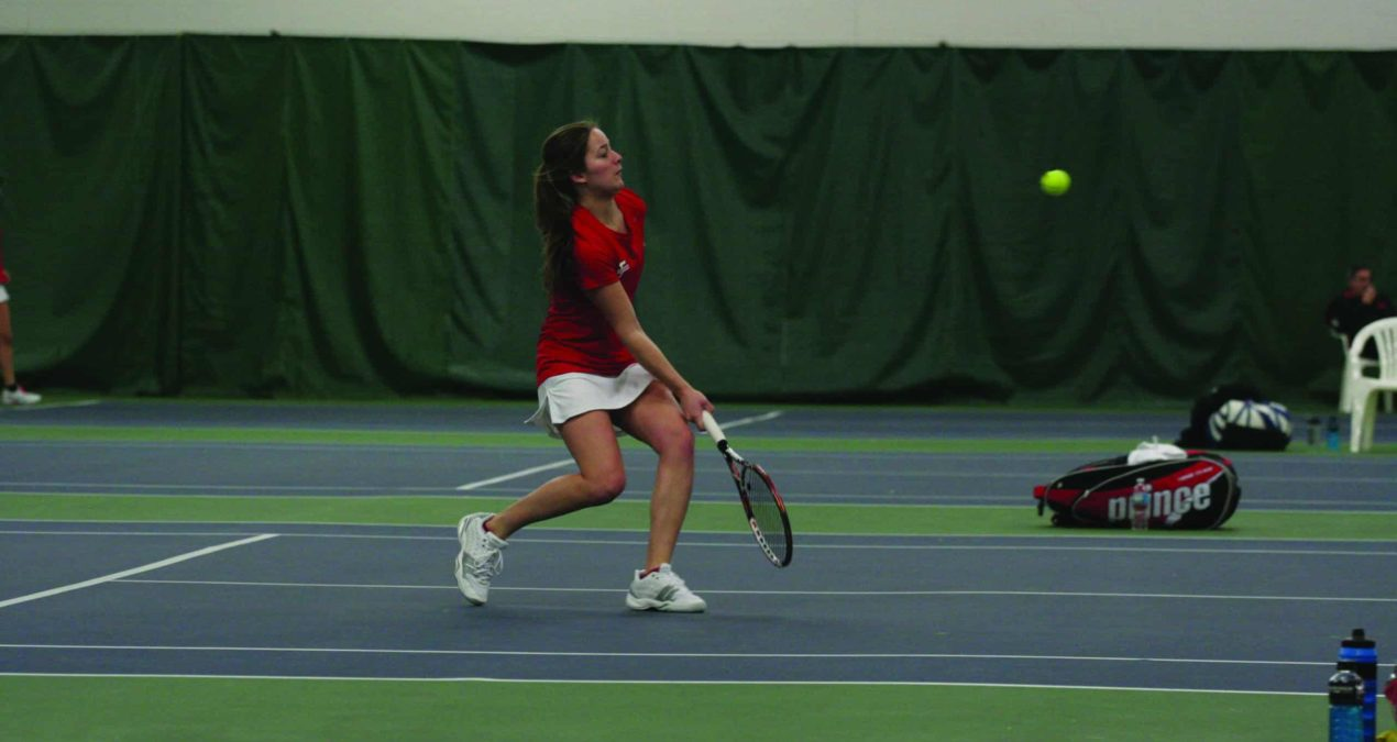 Women's Tennis swings passed Wooster, travels to Midwest Invitational