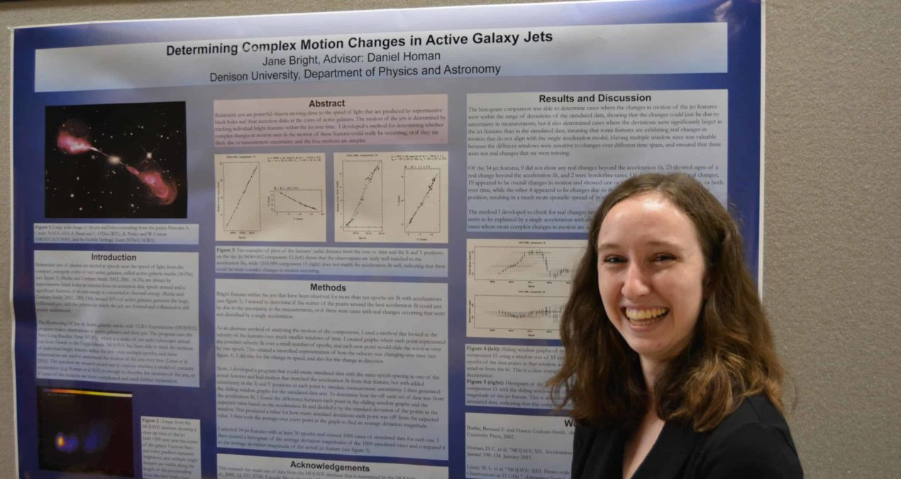 Summer researchers present findings at poster session