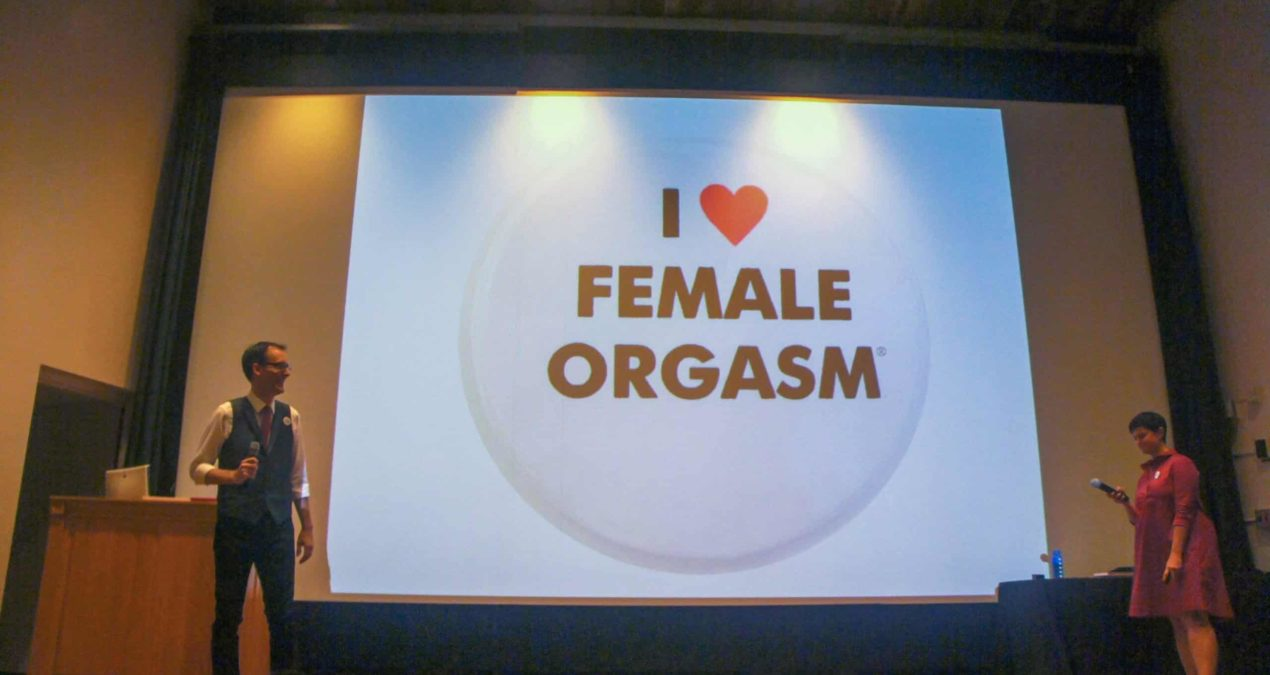 Female O  aims to normalize female sexuality