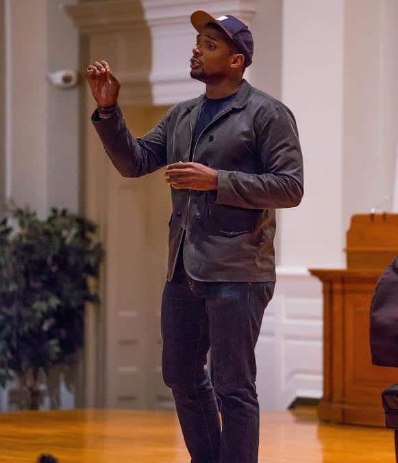 Michael Sam visits campus during Coming Out Week