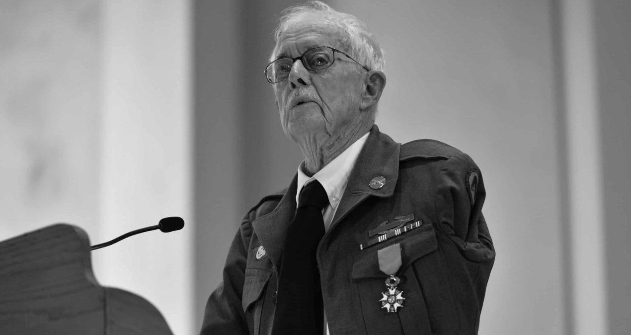 Denison Professor Emeritus Andrew Sterrett receives Legion of Honor Award