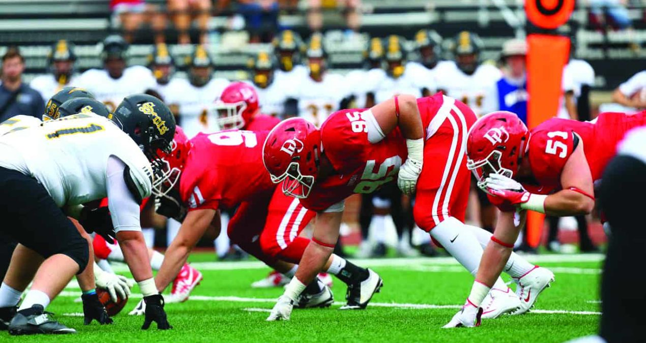 Football crushes Wooster in annual game