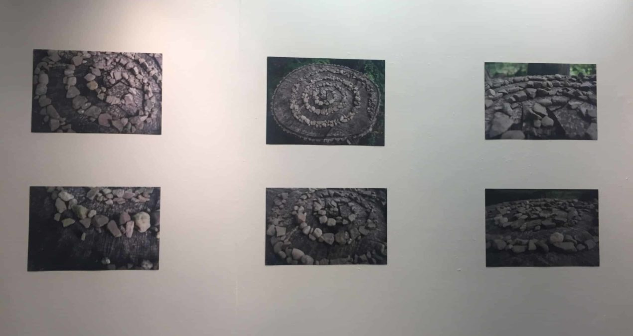 Studio art majors display summer research exhibitions