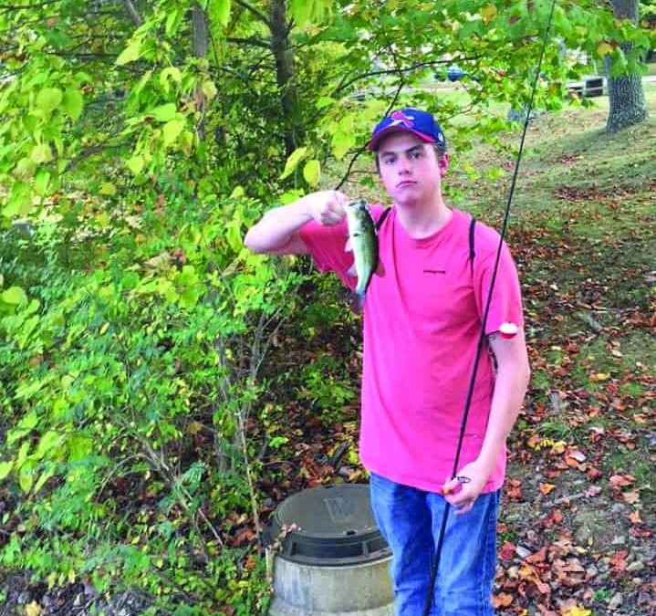 Denison Anglers are casting, reeling and dealing in Ebaugh Pond