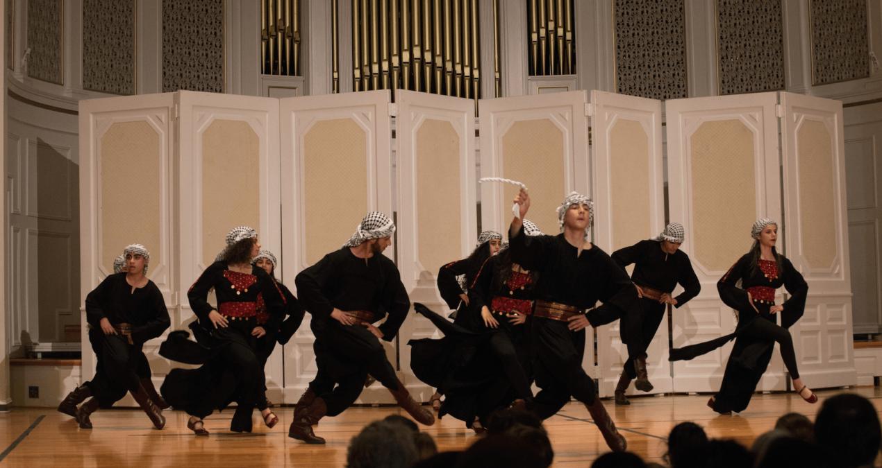 Shoruq Debka Dance Troupe Visits Denison