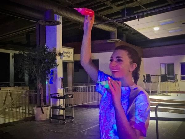 University Program Council hosts third annual Paint U party