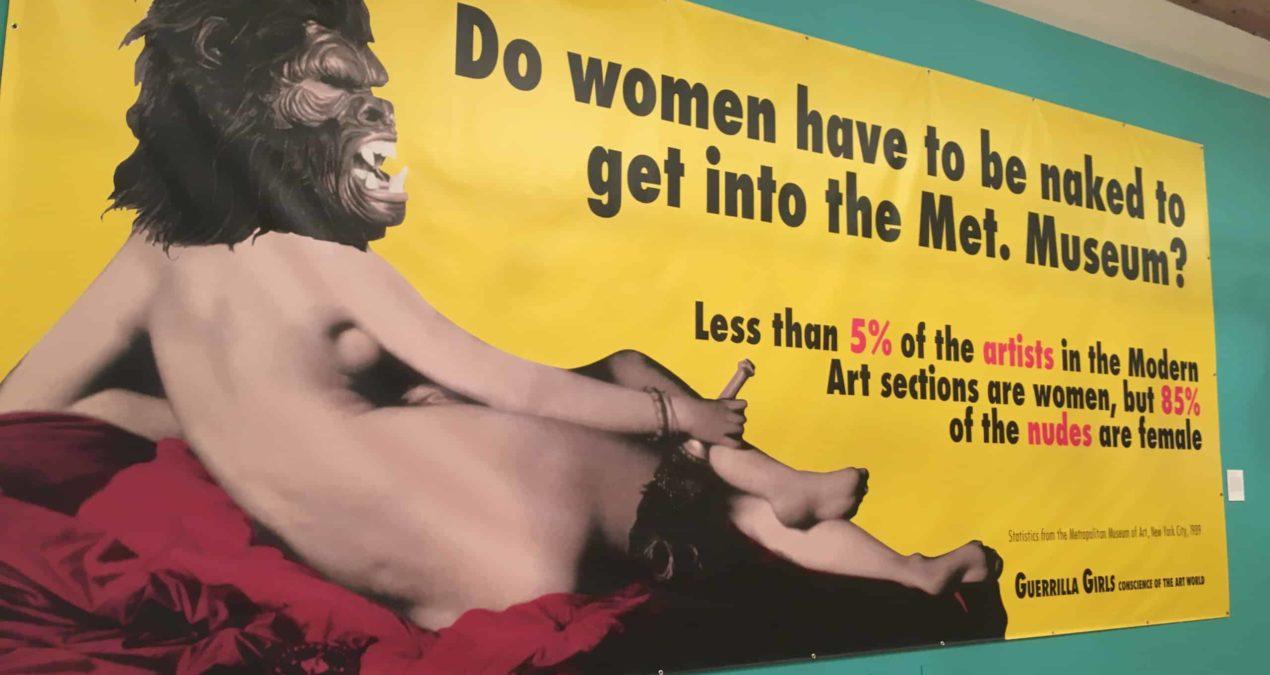 "Guerrilla Girls present ""The Art of Behaving Badly"""