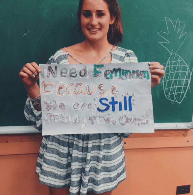 Denison Feminists: We Need Feminism Because…