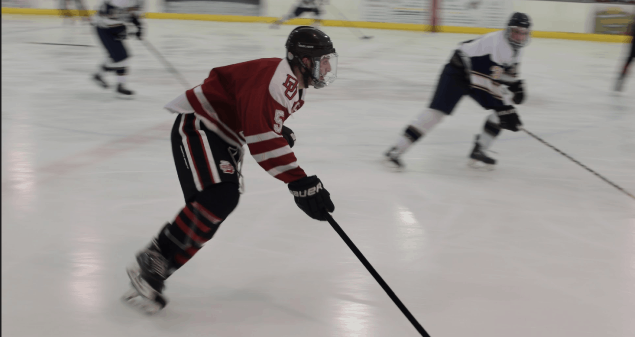 Club Hockey places second place in home tournament
