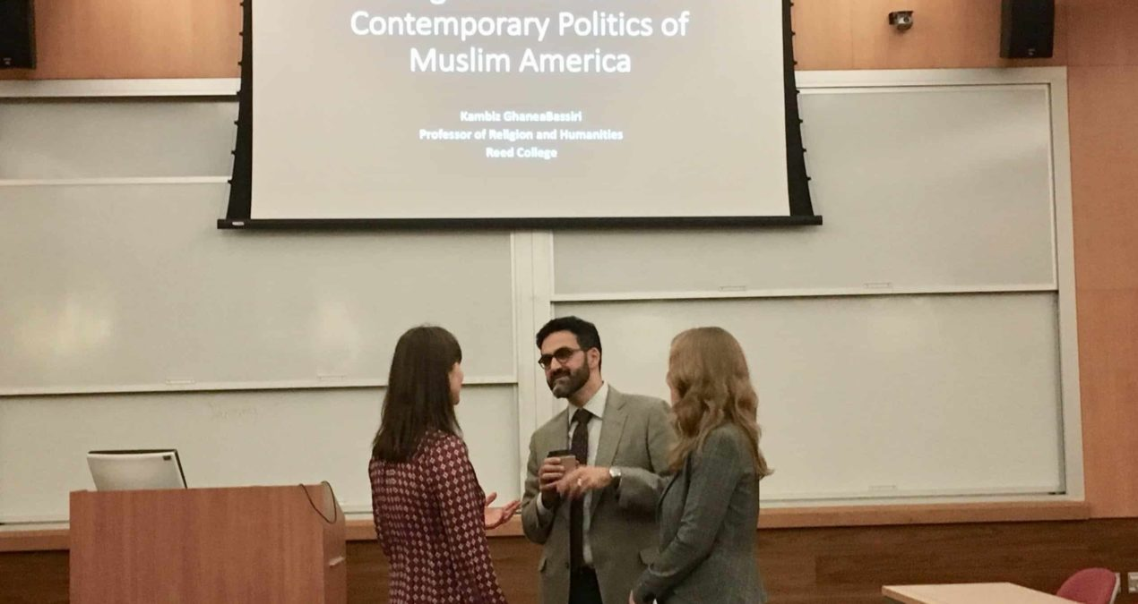 Muslims and Politics: GhaneaBassiri Brings Religious Discussion to Campus