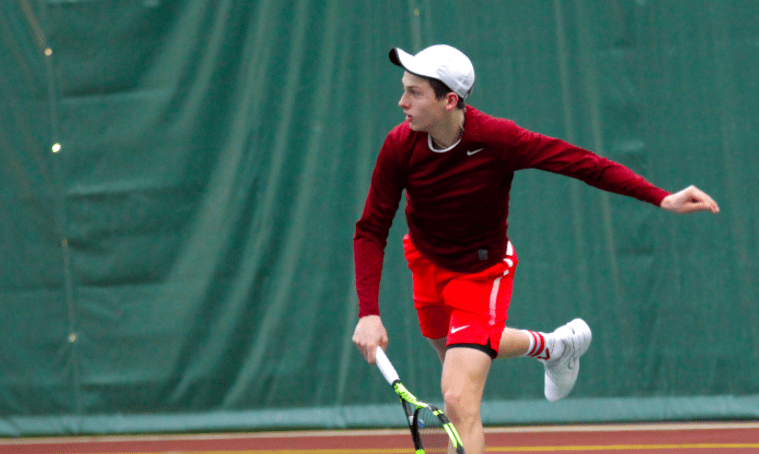 Tennis falls short in tough match against #9 Carnegie Mellon