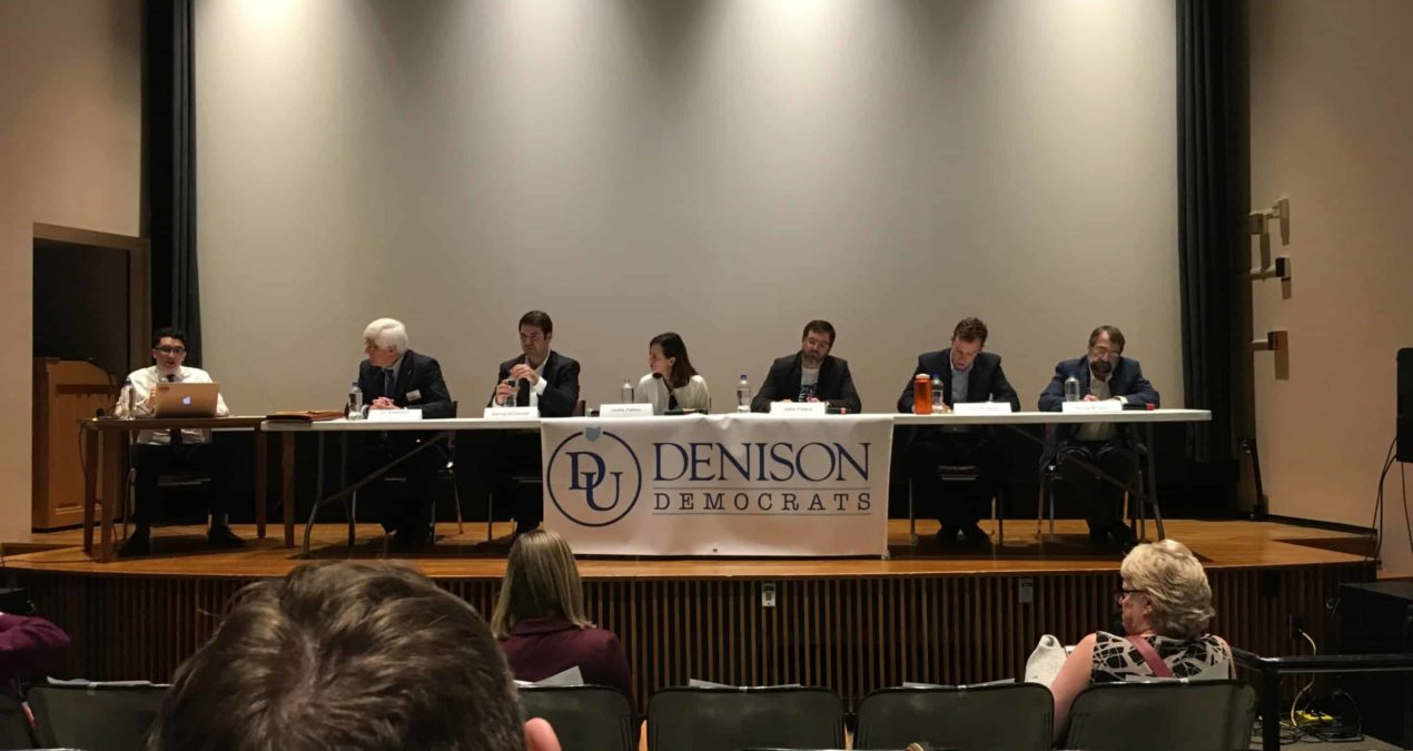 Denison Democrats host debate for Democrat candidates in run for 12 congressional district