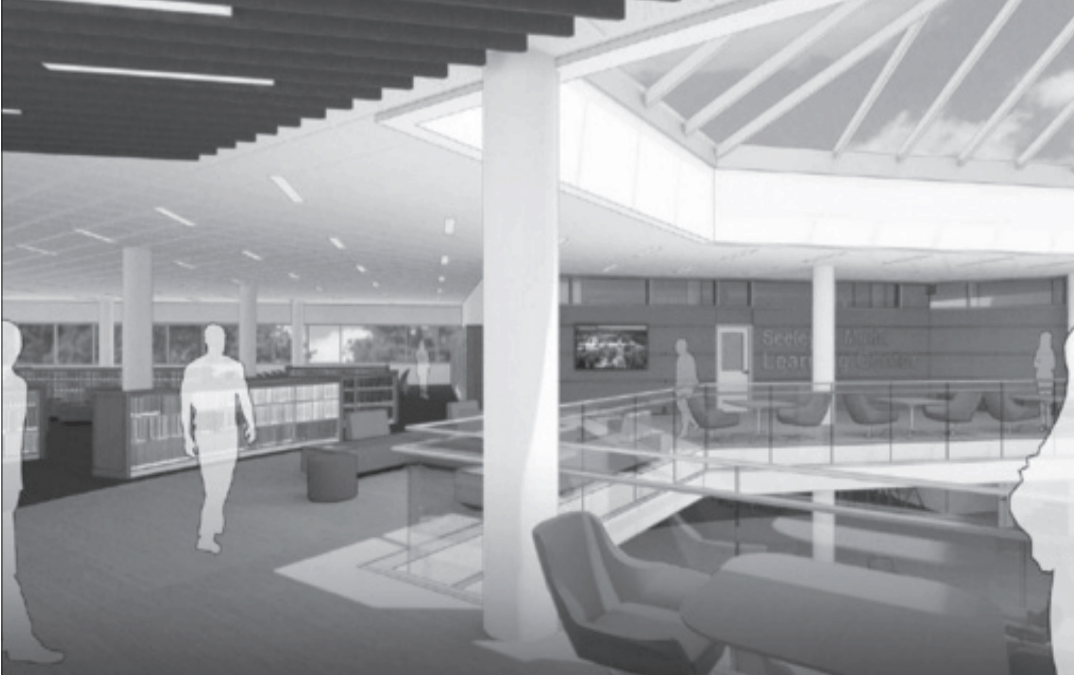 Denison's library receives generous gift and plans to make improvements