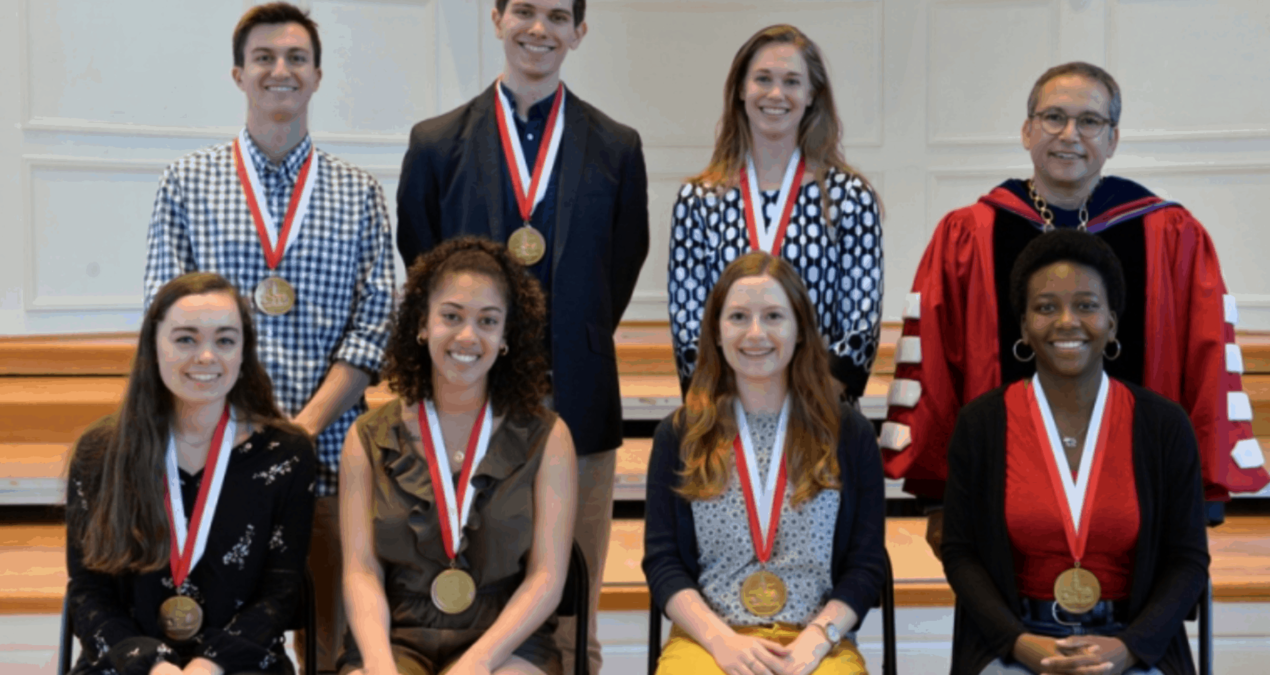 Academic Award Convocation recognizes excellence at Denison