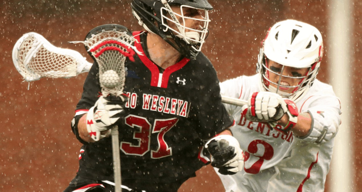 Men's Lacrosse wins NCAC Championship over OWU
