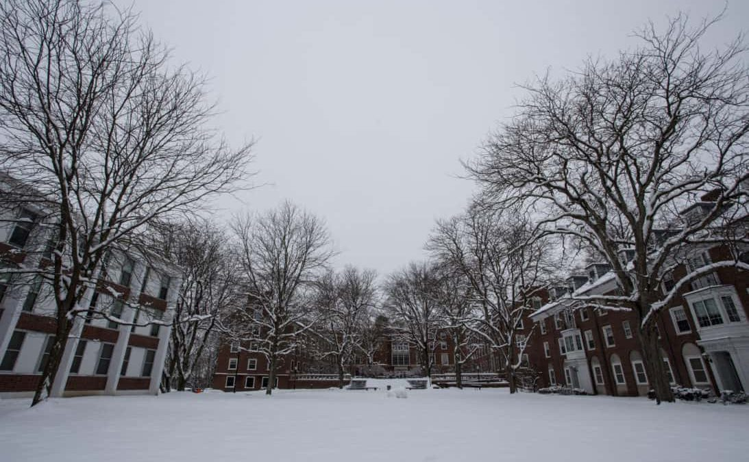 Polar vortex freezes campus and tests student survival skills