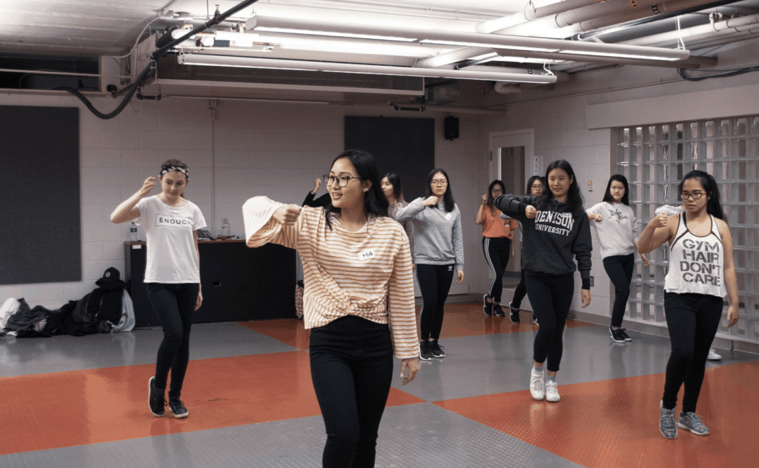 Denison Kpop dance group bursts onto Denison's social scene