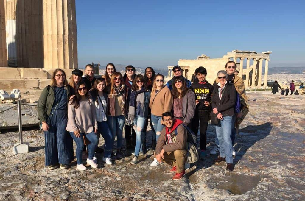 Denison Seminar brings students on a journey to Greece