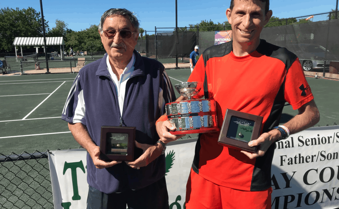 Meet Peter Homorody, Denison's wildly accomplished assistant tennis coach