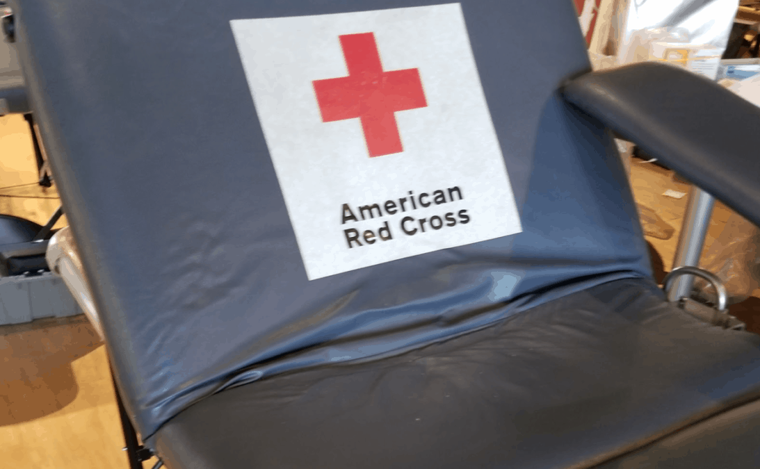 The Red Cross is an easy way to give back without having to leave campus