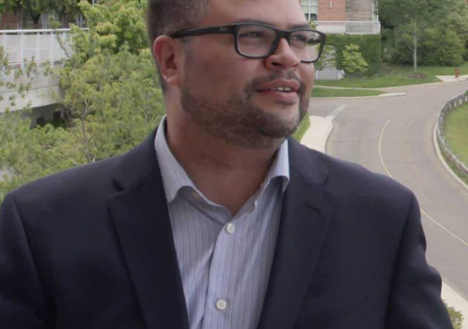 Jeremy Blake becomes first openly gay candidate to run for Newark City mayor